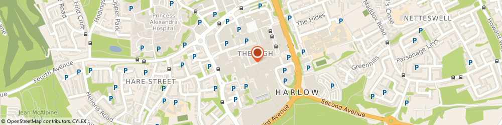 Household Bank PLC, Harlow, 66, THE HARVEY CENTRE