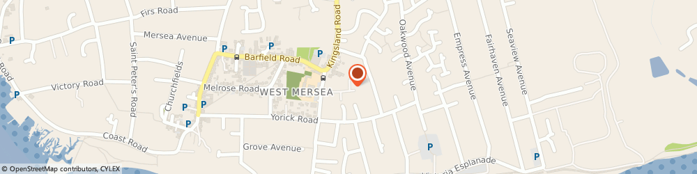 Route/map/directions to Royal Mail, CO5 8QQ Colchester, 3 Rushmere Close