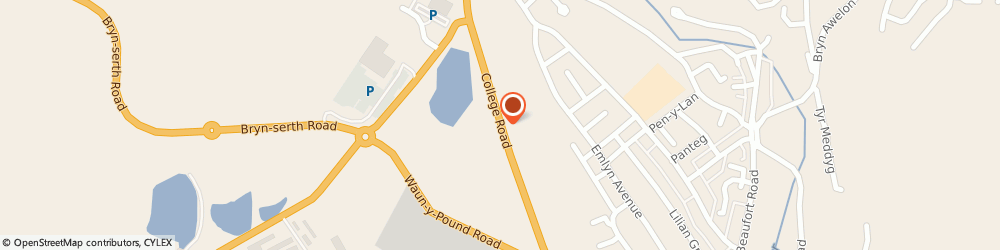 Route/map/directions to Gwent Health Care (Nhs Trust), NP23 6HA Ebbw Vale, College Road