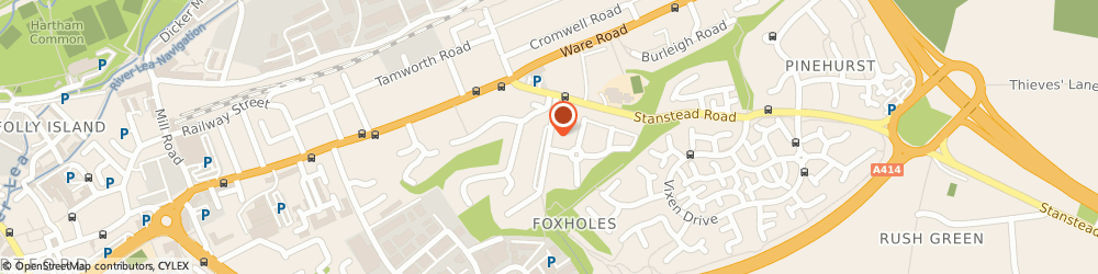 Route/map/directions to Total Block Cleaning Services, SG13 7JG Hertford, 18 Foxholes Avenue