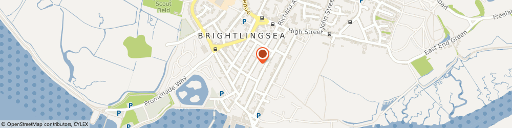 Route/map/directions to Brightlingsea Guitar Lessons, CO7 0DD Brightlingsea, 73 New St