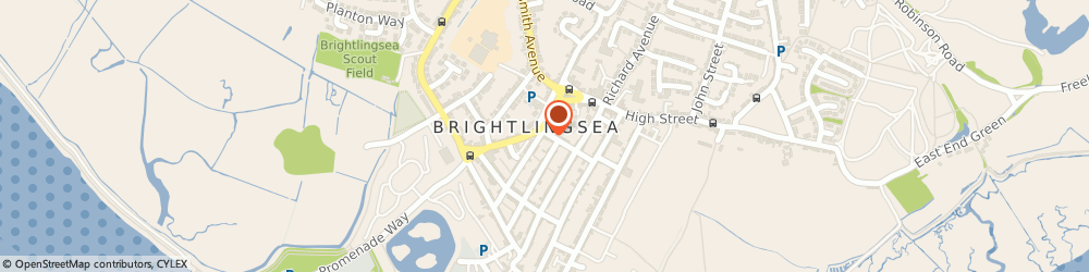 Route/map/directions to Vibe Hairdressers, CO7 0DB Brightlingsea, 15 Wellington St