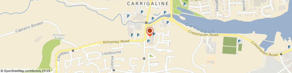 Route/map/directions to NAVILLUS TILE LIMITED, P43 Carrigaline, Forge House, Main Street