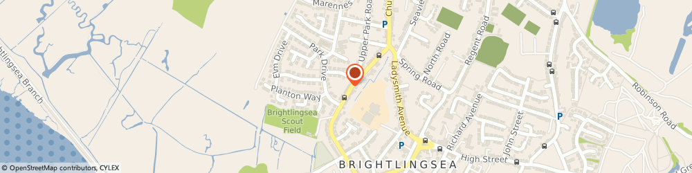 Route/map/directions to Aam Insurance Services Ltd, CO7 0JS Brightlingsea, 2-4, Lower Park Rd