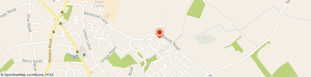 Route/map/directions to KDR Plumbing, CO5 0FE Colchester, 14 Warren Lingley, Tiptree