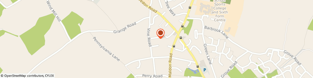 Route/map/directions to Garden Farm Fruit & Veg, CO5 8TH Colchester, 4 Kingsway