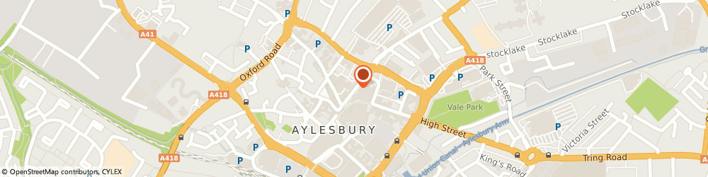 Route/map/directions to Nu Sight, HP20 1RS Aylesbury, 30 Cambridge Street
