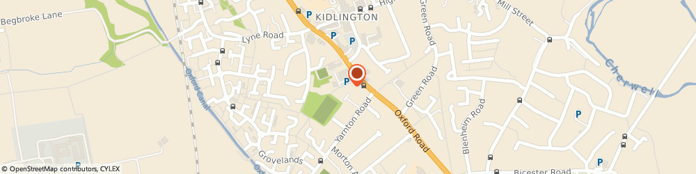 Route/map/directions to Oxfordshire Sexual Health Services, OX5 1AP Kidlington, Exeter Close, Oxford Rd