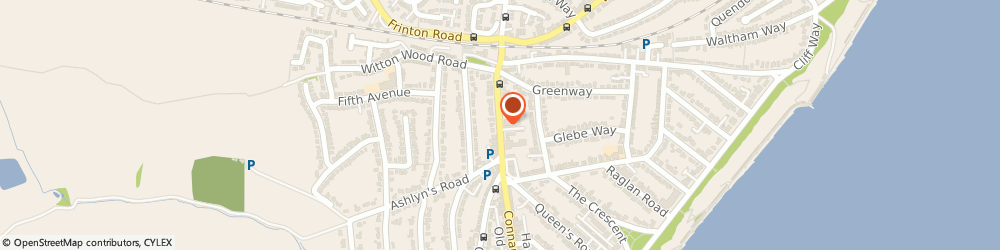 Route/map/directions to Irish Eyes Limited, CO13 9AB Frinton-On-Sea, 1ST FLOOR, 143 CONNAUGHT AVENUE