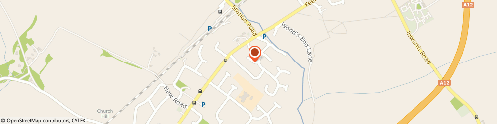 Route/map/directions to S J S, CO5 9NF Colchester, 5 Mallard Close, Kelvedon