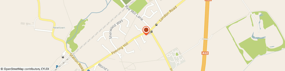 Route/map/directions to Kmsb Enterprises Limited, CO5 9PY Colchester, 122 Feering Hill