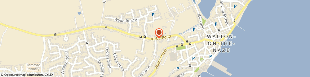 Route/map/directions to Bank and Office Cleaning, CO14 8QZ Walton On The Naze, 22 Kirby Road