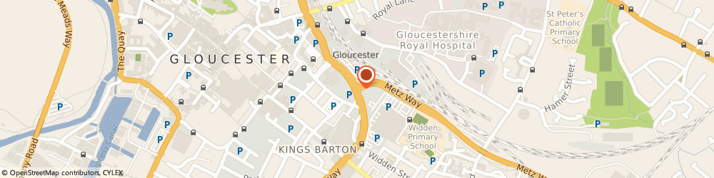 Route/map/directions to Freedom Motorhomes Ltd, GL2 Gloucester, VIEWING BY APPOINTMENT