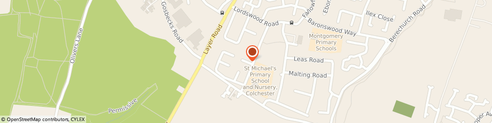 Route/map/directions to Courier Expert, CO2 9RB Colchester, Sittang Close