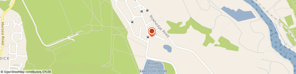 Route/map/directions to Ray Halls Painting & Decorating, CO2 8EA Colchester, 7 Fingringhoe Rd