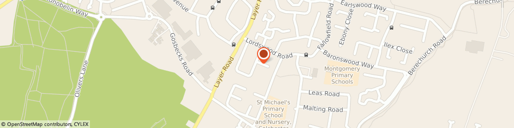 Route/map/directions to G.B.T Painting & Decorating, CO2 9HU Colchester, 45 Littlefield Rd