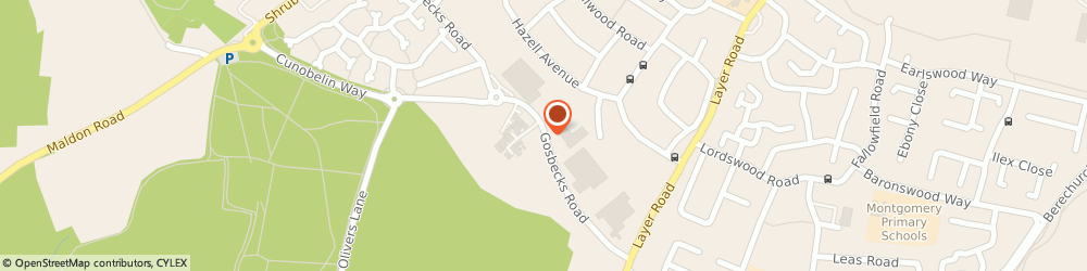 Route/map/directions to Alstons Upholstery, CO2 9JU Colchester, 155 Gosbecks Road