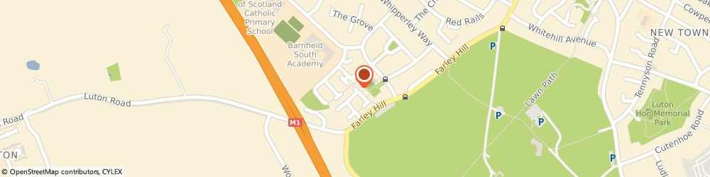 Route/map/directions to Andy1st Driving School, LU1 5QA Luton, 16 Leyhill Drive