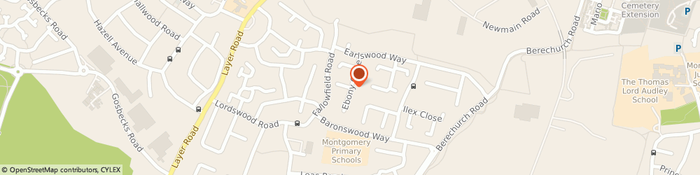 Route/map/directions to J.R NAIL DESIGN LTD, CO2 9LX Colchester, 92 Charter House Ebony Close