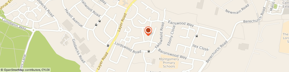 Route/map/directions to Pawed & Pampered Dog Grooming, CO2 9LP Colchester, 11 Glebe Rd