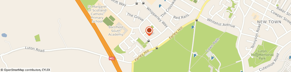 Route/map/directions to Stockwood Osteopathic & Sports Injury Clinic Luton, LU1 5PB Luton, 37 Farley Farm Road
