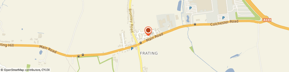 Route/map/directions to Jo Jingles, CO7 7GB Colchester, 18 Fenn close, Frating,