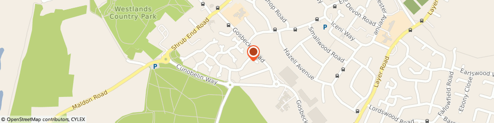 Route/map/directions to Aston Scaffolding (Essex) Ltd, CO2 9PS Colchester, 68 Gladiator Way