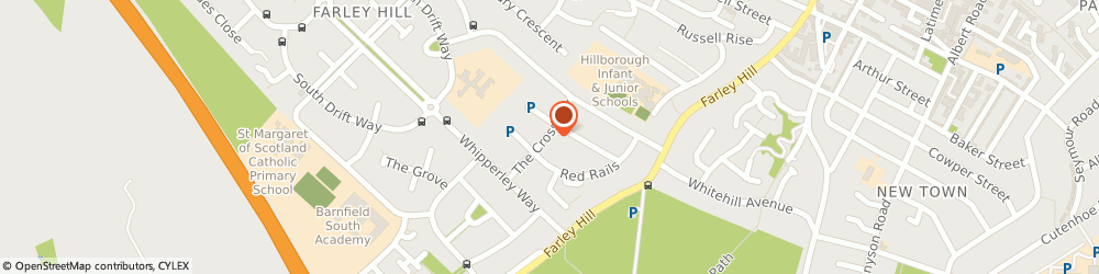 Route/map/directions to Crossway Fish Bar, LU1 5LY Luton, 7 The Cross Way