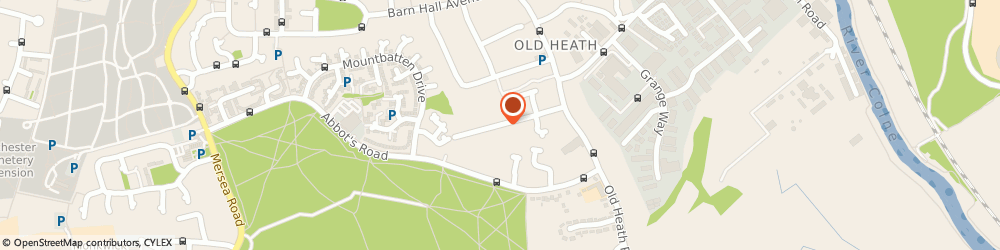 Route/map/directions to Old Heath Community Centre, CO2 8BB Colchester, D'Arcy Rd