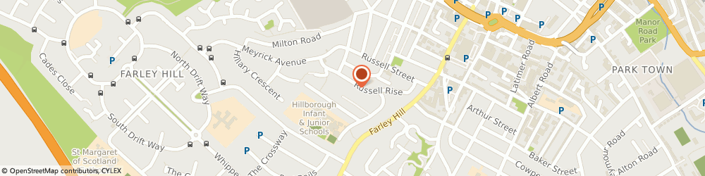 Route/map/directions to Adam Garden, LU1 5ET Luton, 73b, Russell Rise