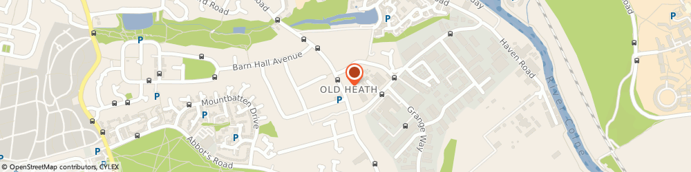 Route/map/directions to Post Office Limited, CO2 8AU Colchester, 218A Old Heath Road
