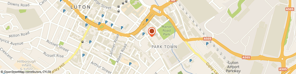Route/map/directions to Moads Barber Shop, LU1 3HG Luton, 109a Park St