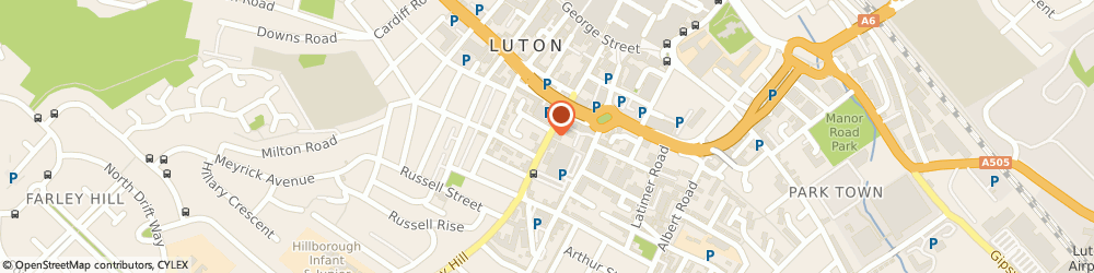 Route/map/directions to Nico's Barber Shop, LU1 5DA Luton, 80A Chapel St