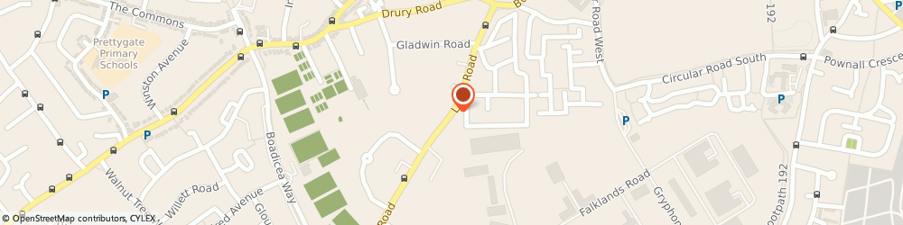 Route/map/directions to Layer Road Florists, CO2 7JW Colchester, 37-41 LAYER ROAD
