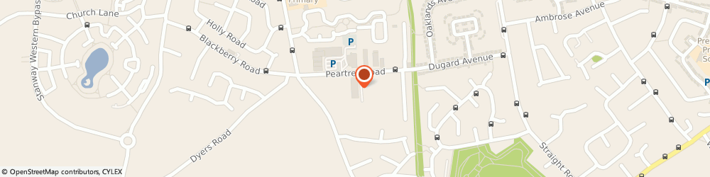 Route/map/directions to Peter Gerald Kitchens & Interiors, CO3 0LA Stanway, 1st floor, Hatfields Furnishers, Peartree Rd