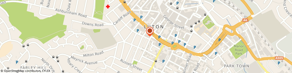 Route/map/directions to Luton All Womens Centre, LU1 5BB Luton, The Spires, Suite 2, Adelaide Street