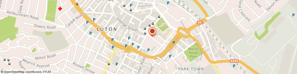 Route/map/directions to Chalgrave Plumbing & Heating Ltd, LU1 3FL Luton, 28 Park St