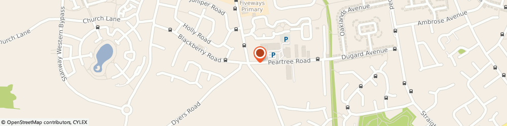 Route/map/directions to Ricsar Renovation, CO3 0AB Colchester, 17 Peartree Rd
