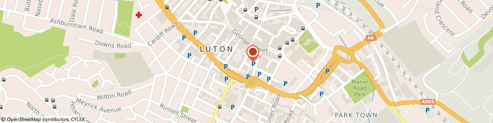Route/map/directions to Jennys, LU1 2SE Luton, 8, Chapel St