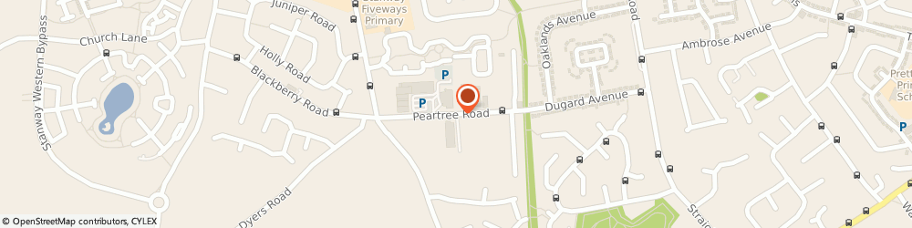 Route/map/directions to Screwfix - Colchester Peartree Road, CO3 0AB Colchester, Peartree Road