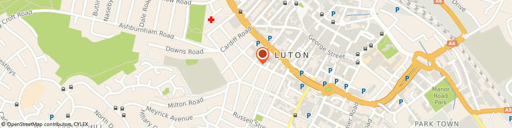 Route/map/directions to Learner Driving Centres Luton, LU1 5BT Luton, 6/10 Adelaide Street