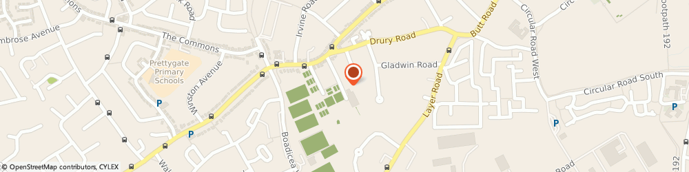 Route/map/directions to D B S Builders Ltd, CO2 7XB Colchester, 23, Fitzgilbert Rd
