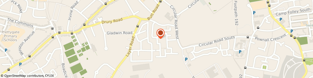 Route/map/directions to The Paranormal Emporium, CO2 7FH Colchester, 54 Kensington Road