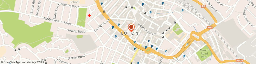 Route/map/directions to Nakorn Thai Restaurant, LU1 2QH Luton, 45 Wellington St