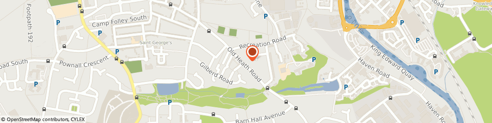 Route/map/directions to Ayling Building Services, CO1 2HB Colchester, 70 Old Heath Rd