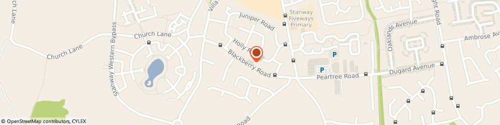 Route/map/directions to Blackberry Bakery, CO3 0RZ Stanway, 58 Blackberry Rd