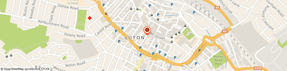 Route/map/directions to BAR U GRUBEGO LTD, LU1 2DW Luton, 19 King St