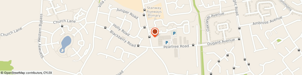 Route/map/directions to NEP Electrical, CO3 0QF Stanway, 71 Winstree Rd