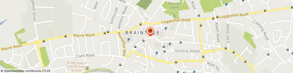 Route/map/directions to Boydens Braintree, CM7 1RB Braintree, 34 George Yard Shopping Centre