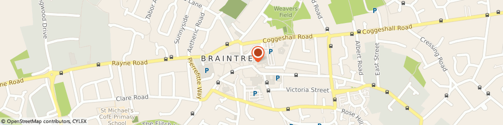Route/map/directions to Connells Estate Agents, CM7 1TX Braintree, 17 Great Square
